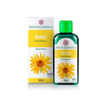 Extrato Oleoso Arnica 60ml Phytoterapica