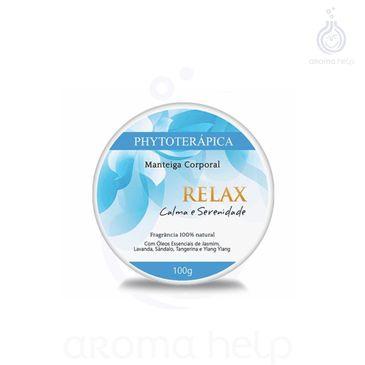 Manteiga Corporal - Relax - 100g - Phytoterapica